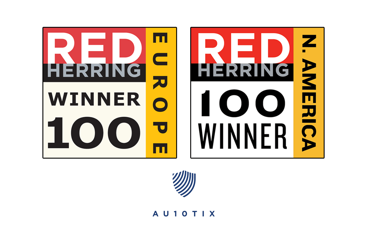 AU10TIX Selected For 2019 Red Herring Top 100 In Both North America & Europe